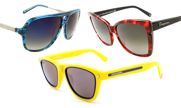 Dsquared Sunglasses for Men and Women. Multiple Styles Available.
