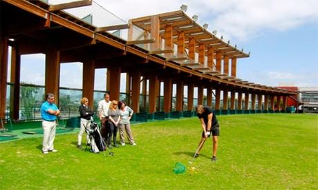 1 mes de tarifa plana de clases de golf para niño, adulto o familiares desde 37,80 € Playgolf Escuela
