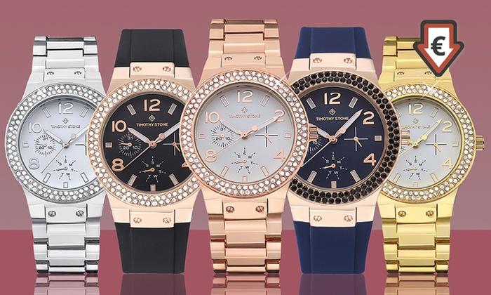 Relojes Timothy Stone Facon con cristales Swarovski