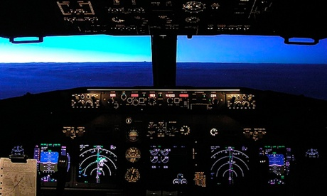 Experience: One-Hour Motion Flight Simulator Experience For just: £75.0