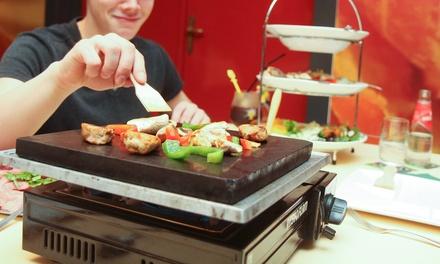 Bowlen en onbeperkt steengrillen/gourmetten voor 412 personen bij Bowlingcentrum Erica in Sint Hubert