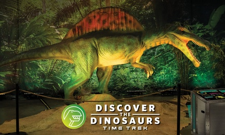 Discover the Dinosaurs: Time Trek  – Up to 33% Off