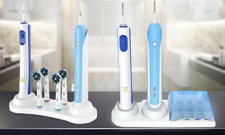 1 o 2 organizer per spazzolino elettrico disponibile con o senza coperchio