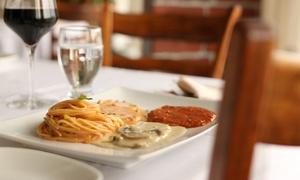 Restaurant Terracina: Souper italien de 4 services pour 2 ou 4 personnes au Restaurant Terracina (jusqu'à 61 % de rabais)
