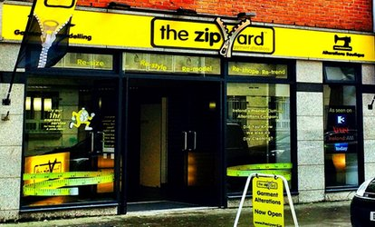 image for €7.50 for €15 Toward Clothing Alterations at The Zip Yard Jervis (50% Off)