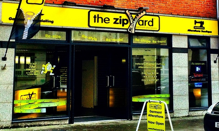 The Zip Yard - Dublin: €10 to Spend on Clothing Alterations at The Zip Yard (50% Off)