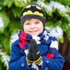 Lot gants et chapeau pour enfant