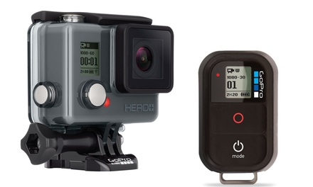 GoPro Remote Fernbedienung oder GoPro Hero+ Videokamera refurbished inkl. Versand