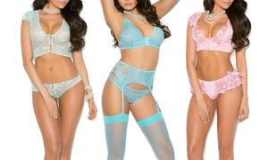 Elegant Moments Bralette and Panty Sets