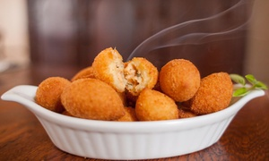 Durello Traditional Brazilian Foods: $5 for Brazilian Deluxe Cone or 40-Piece Party Box ($21) at Durello Traditional Brazilian Foods (Up to $35 Value)