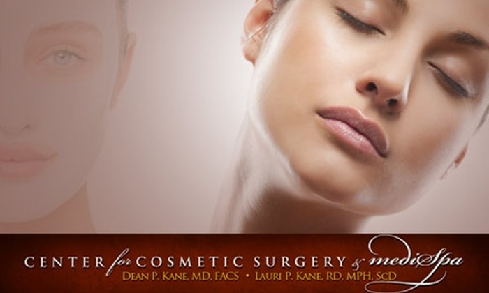 Center for Cosmetic Surgery & MediSpa - Pikesville: $49 for a Summer Glow Microderm Petite Facial with a Vitamin C Sun Treatment at the Center for Cosmetic Surgery & MediSpa