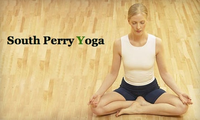 South Perry Yoga - East Central: $36 for Six Drop-in Classes at South Perry Yoga ($72 Value)