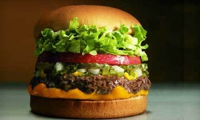 Fatburger - Multiple Locations: $10 for $20 Worth of Burgers, Fries, and Shakes at Fatburger. Four Locations Available.