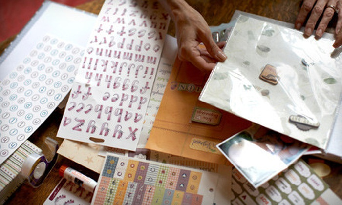 Stampin' Up! demonstrator Linda Plett - Briargate: One, Three, or Five Paper-Craft Classes at Stampin' Up! from Demonstrator Linda Plett (Up to 63% Off)