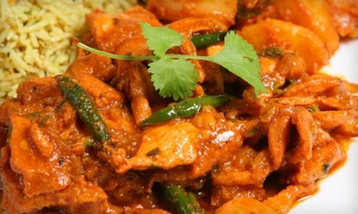 Maharaja Indian Restaurant & Bar - Plano: $10 for $20 Worth of Indian Dinner Fare at Maharaja Indian Restaurant & Bar in Plano
