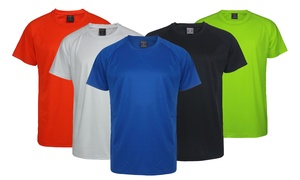 Lee Hanton Men's Solid Performance Tee