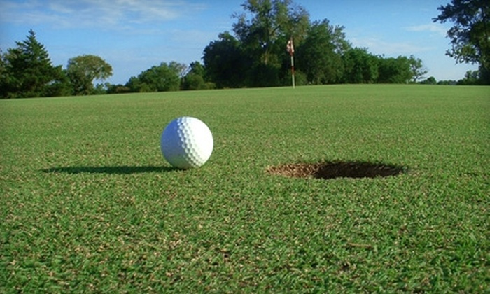 Clearwater Golf Course - Ninnescah: $32 for 18 Holes of Golf for Two, Cart and Range Balls at Clearwater Golf Course in Clearwater (Up to $64 Value)