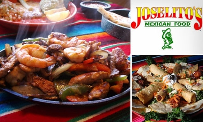 Joselito's Mexican Food - Tujunga: $18 for $40 Worth of Authentic Cuisine and Drinks at Joselito's Mexican Food