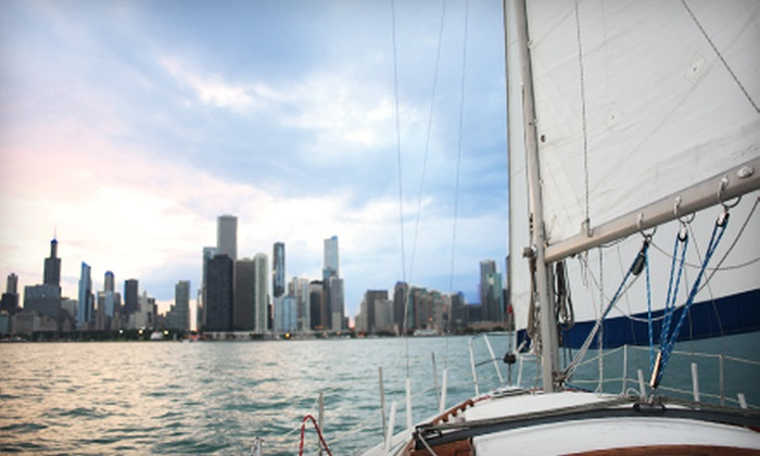 Just Sailing Ltd. - Central Chicago: Sailing Trip for Two or Six from Just Sailing Ltd.