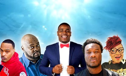image for Laffapalooza Festival of Comedy with Donterio and Haha Davis on Saturday, May 26, at 7:30 p.m.