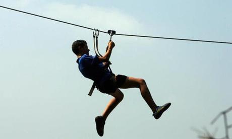 Entrada infantil, juvenil o para adulto al parque de aventuras Natupark desde 8 €