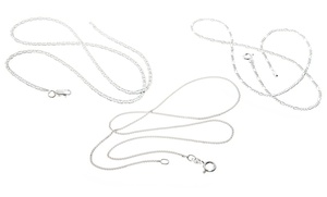 Italian Sterling Silver Chains at Italian Sterling Silver Chains, plus 6.0% Cash Back from Ebates.