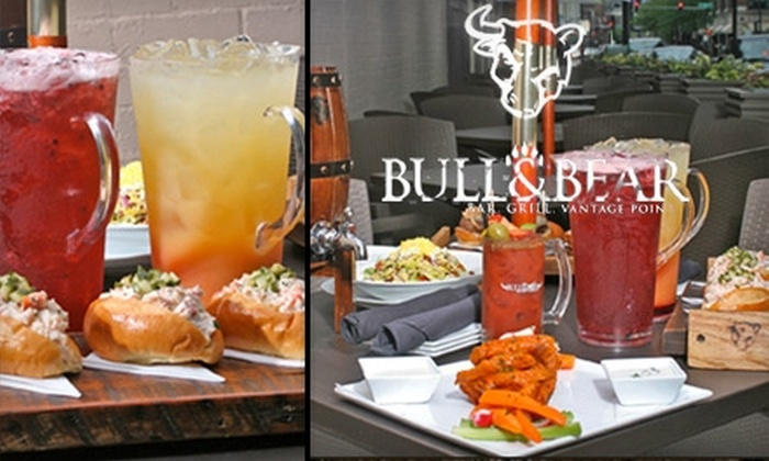 Bull & Bear - Near North Side: $25 for $50 Worth of Fine Bar Fare and Drinks at Bull & Bear