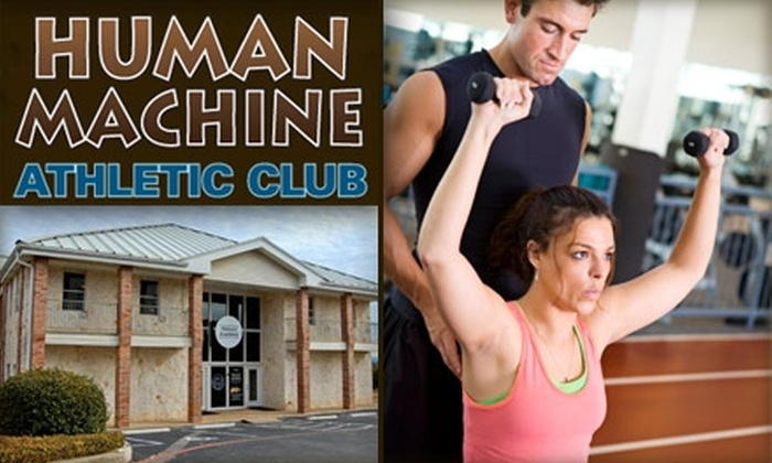 Human Machine Athletic Club - Lakeway: $69 for Four Personal Training Sessions Plus Fitness Assessment and Nutrition Assistance at Human Machine Athletic Club