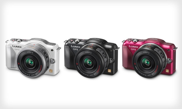 Panasonic GF5X 12.1MP Compact System Camera with Power Zoom Lens Kit: $399 for Panasonic GF5X Camera with Power Zoom Lens Kit ($749.99 List Price). 3 Color Choices. Free Shipping & Returns.