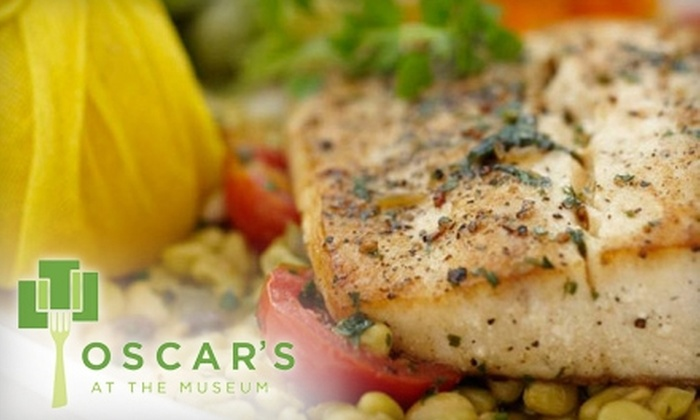 Oscar's at the Museum - Central City: $12 for $25 Worth of Seasonal Fare at Oscar's at the Museum