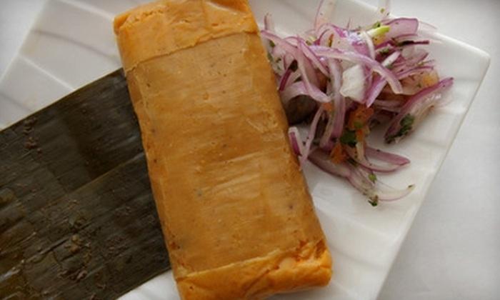 Viru Restaurant - Northeast Yonkers: $15 for $30 Worth of Peruvian Fare and Drinks at Viru Restaurant