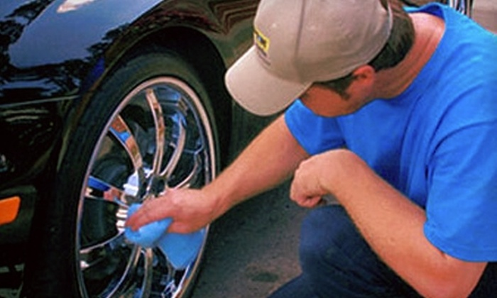 Finish Line Mobile Wash & Detail - Bayport: $35 for a Two-Vehicle Mobile Wash from Finish Line Mobile Wash & Detail (Up to $80 Value)