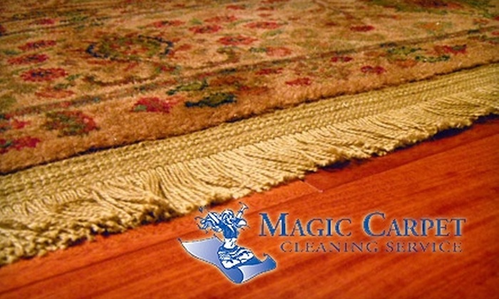 Magic Carpet Cleaning Company - Nashville: $85 for Two Rooms of Carpet Cleaning, Two Rooms of Protectant Application, and Cleaning of Two Air Ducts from Magic Carpet Cleaning Company