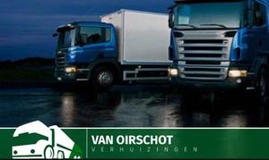 VAN OIRSCHOT: Verhuishulp: 2uur, met buitenlift en 2 verhuizers door Van Oirschot te Niel € 159