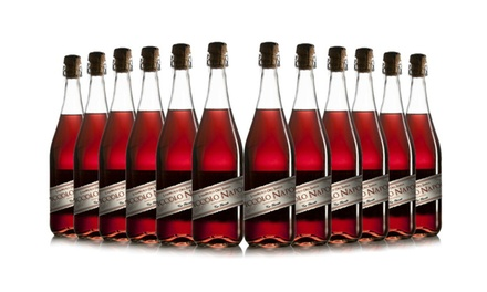 12 Bottles of Lambrusco Rosato Wine