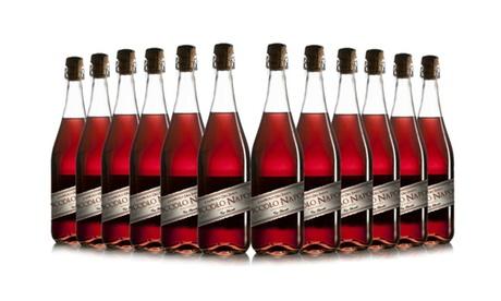 12 Bottles of Lambrusco Rosato Wine