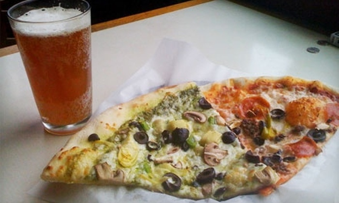 Church St. Pizza - Central Area: $8 for $16 Worth of Pizza and Drinks at Church St. Pizza