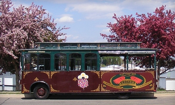 Red Wing Trolley Tour - Red Wing: $10 for Two Adult Tickets for a Red Wing Trolley Tour ($20 Value)