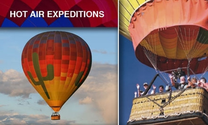 Hot Air Expeditions - Deer Valley: $95 for a Hot Air Balloon Ride with Post-Flight Champagne and Hors D'oeuvres Through Hot Air Expeditions ($175 Value)