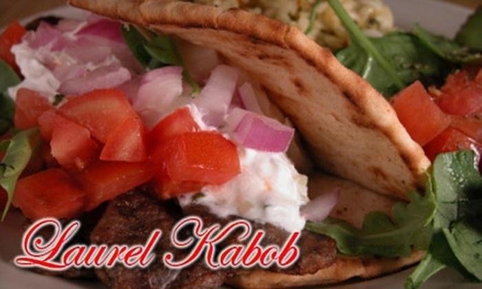 Laurel Kabob - San Carlos: $9 for $18 Worth of Gyros, Kebabs, and More at Laurel Kabob in San Carlos