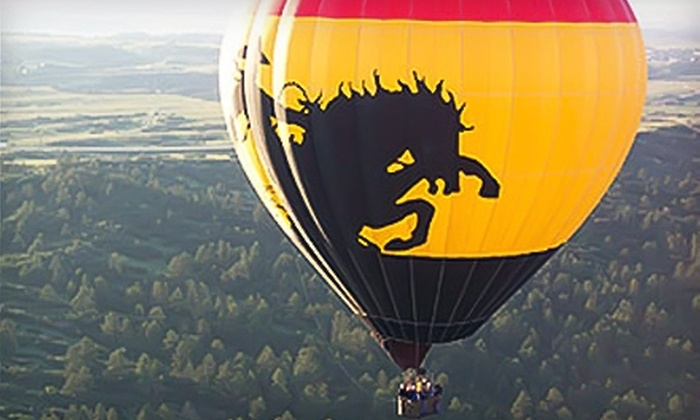 Adventures Out West - Tatum Ranch: $99 for a Sunrise Hot Air Balloon Flight from Adventures Out West (Up to $185 Value)