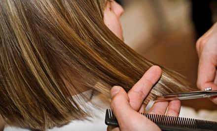 Shampoo, Haircut, and Blow-Dry (a $45 value) - Cut N Corners Salon in Vestavia Hills