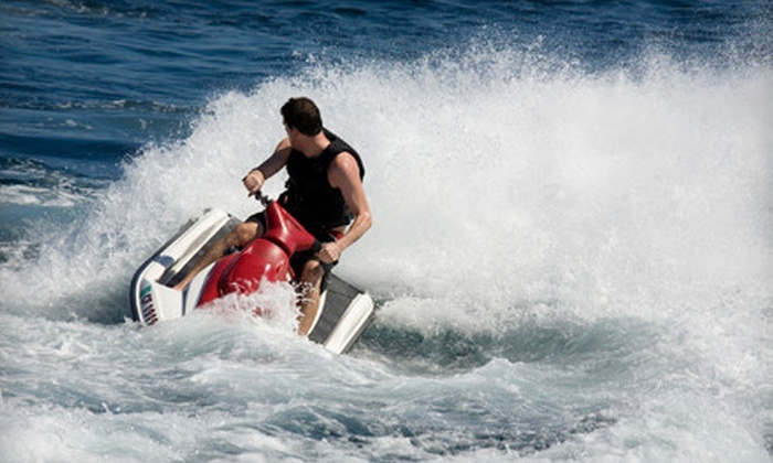Rick's Rent-A-Boat - Bayfront: $49 for a One-Hour Jet-Ski Rental from Rick's Rent-A-Boat in Chula Vista ($100 Value)