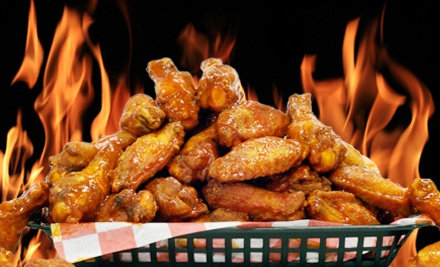 Buffalo Wings and Rings: Wings Dinner for 2 - Buffalo Wings and Rings in Lewis Center
