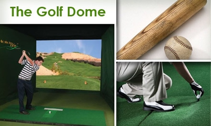The Golf Dome - Bainbridge: $9 for One Hour of Unlimited Indoor Driving-Range Fun at The Golf Dome ($18 Value)