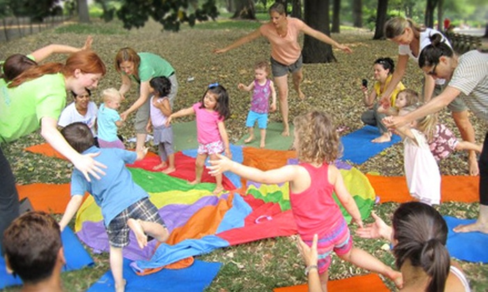 Lil Yogi's NYC - San Juan Hill,Lincoln Square,Hell's Kitchen: $39 for One Month of Yoga Classes for Kids at Lil Yogi's NYC ($150 Value)