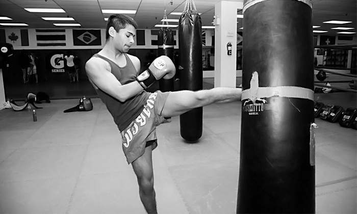 Toronto Kickboxing & Muay Thai Academy - Multiple Locations: C$25 for Five Adult or Children's Classes at Toronto Kickboxing & Muay Thai Academy (C$90 Value)