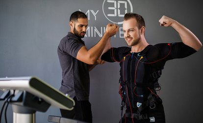 One or Two Sessions of Electrical Muscle Stimulation at My 30 Minutes Personal Fitness Training, Three Locations