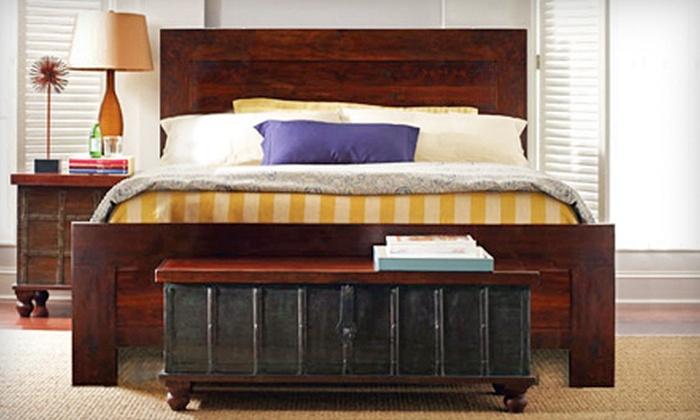 Wood Sense Furniture - Frisco Bridges: Furniture at Wood Sense Furniture in Frisco (Half Off). Three Options Available.