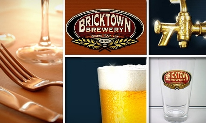 Bricktown Brewery Restaurant & Pub - Oklahoma City: $8 for $20 Worth of Pub Fare and Famous Brews at Bricktown Brewery